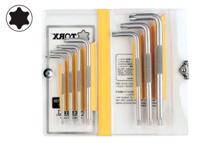 Комплект из 7-ми торцевых ключей TORX