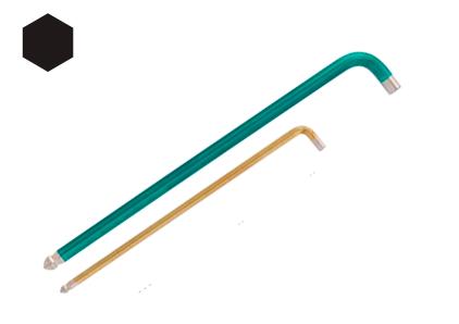 Шестигранный торцевой ключ L-образной формы RAINBALL
